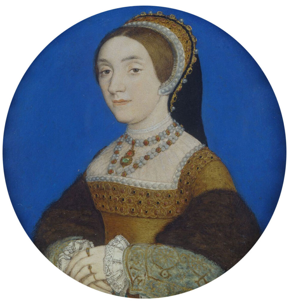 This image has an empty alt attribute; its file name is HANS-HOLBEIN-THE-YOUNGER-Portrait-of-a-Lady-perhaps-Katherine-Howard-1520-1542-966x1024.jpg