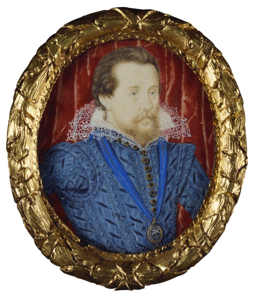 This image has an empty alt attribute; its file name is NICHOLAS-HILLIARD-1547-1619-James-I-1566-1625-c.1609-15-Acuarela-sobre-vitela-puesta-en-naipes-46-x-38-cm-873x1024.jpg